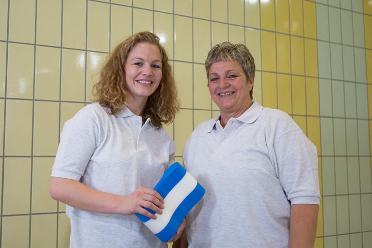 Sandrine und Claudia Roditscheff
