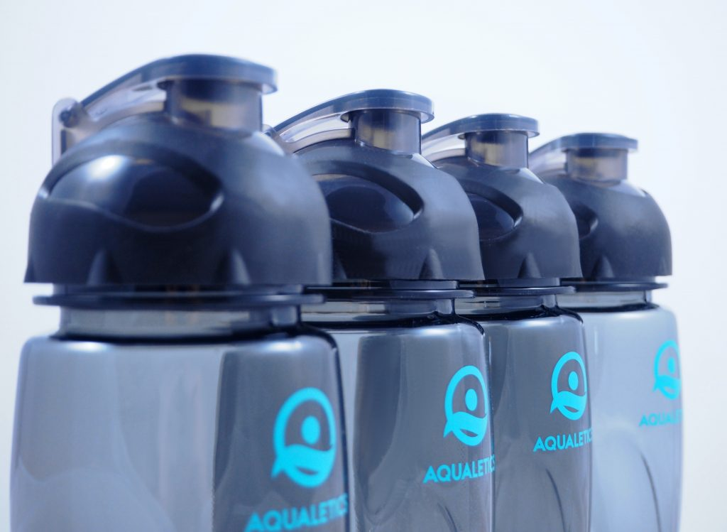 Aqualetics Sportflasche - optimal fürs Schwimmen