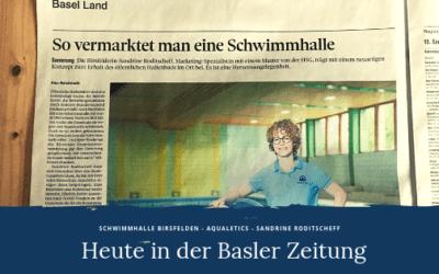 Aqualetics in der Basler Zeitung